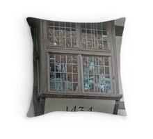 A Window On York's Stonegate Throw Pillow