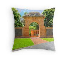 War Memorial Throw Pillow