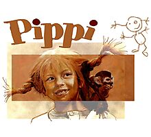 Pippi Longstocking - the fan version Photographic Print