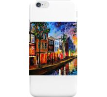 Amsterdam, Red Lights — Buy Now Link - www.etsy.com/listing/211932026 iPhone Case/Skin