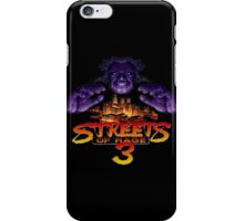 Streets of Rage 3 (Genesis) Mr. X iPhone Case/Skin