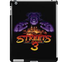 Streets of Rage 3 (Genesis) Mr. X iPad Case/Skin