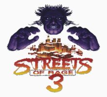Streets of Rage 3 (Genesis) Mr. X Baby Tee