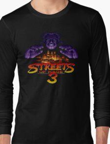 Streets of Rage 3 (Genesis) Mr. X Long Sleeve T-Shirt