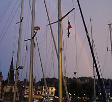 A Rainbow Amongst the Masts by Alyssa Beth Wyatt