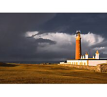Storm at the Butt of Lewis Photographic Print