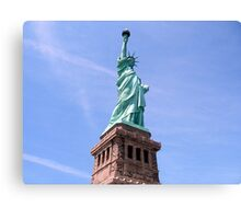 Statue of Liberty - Side View        Canvas Print