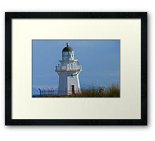 Waipapa Point Lighthouse - The Eyes of the Sea!  - Catlins - New Zealand Framed Print