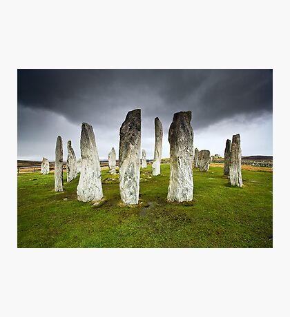 Callanish Storm Photographic Print