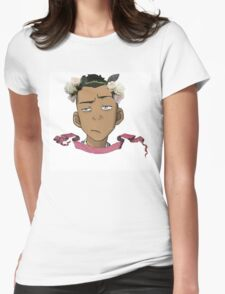 Sokka Floral  Womens Fitted T-Shirt