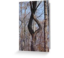 Intertwined Greeting Card