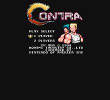 Contra (NES) Title Screen T-Shirt