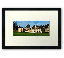 Still Standing - Port Arthur Historic Site, Tasmania, Australia Framed Print