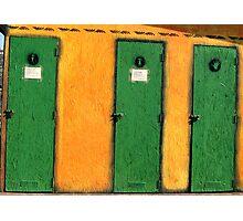 DO0R TO DOOR Photographic Print
