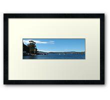 Port Arthur Harbour, Port Arthur, Tasmania, Australia Framed Print