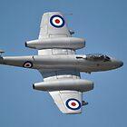 Meteor Flypast, Point Cook Airshow, Australia 2014 by muz2142