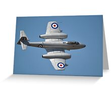 Meteor Flypast, Point Cook Airshow, Australia 2014 Greeting Card