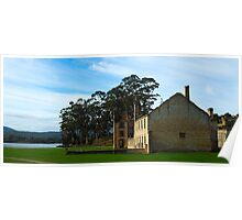 Gone But Not Forgotten- Port Arthur Historic Site, Tasmania Australia Poster