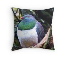 Does this bib fit!! - Wood Pigeon - Dolamore Park - New Zealand Throw Pillow