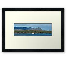 At Anchor  - Port Arthur, Tasmania, Australia Framed Print