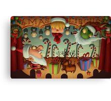 Xmas Circus Canvas Print