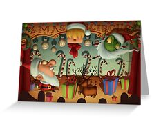 Xmas Circus Greeting Card
