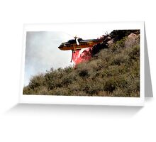Malibu helicopter #2 Greeting Card