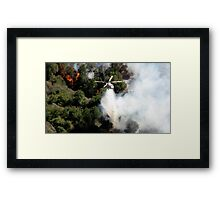 malibu helicopter #4 Framed Print