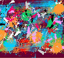 (BUFFALO JUMP) ERIC WHITEMAN ART  by eric  whiteman
