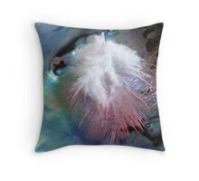 Feather & Pearl - Southland - New Zealand Throw Pillow