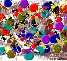 (POWER FLOWER ) ERIC WHITEMAN ART  by eric  whiteman