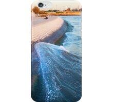 climbing wave iPhone Case/Skin