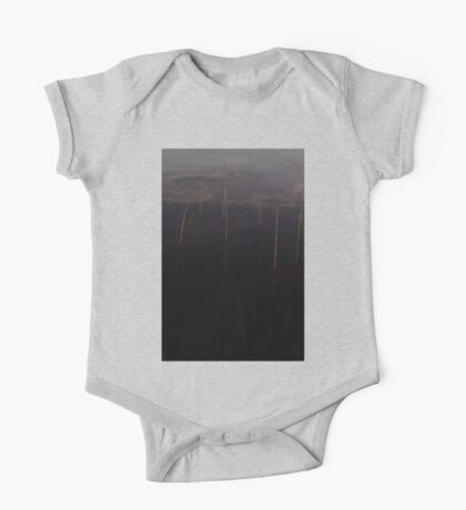 0075 - HDR Panorama - Reeds One Piece - Short Sleeve