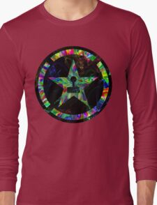 Psychedelic Achievement Hunter Long Sleeve T-Shirt