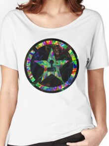 Psychedelic Achievement Hunter Women's Relaxed Fit T-Shirt