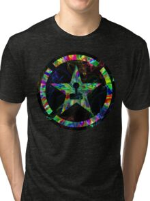 Psychedelic Achievement Hunter Tri-blend T-Shirt