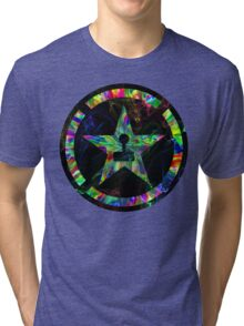 Psychedelic Achievement Hunter Tri-blend T-Shirt