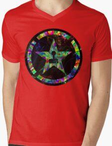 Psychedelic Achievement Hunter Mens V-Neck T-Shirt