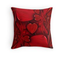 Heart Beats Throw Pillow