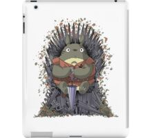 The Umbrella Throne iPad Case/Skin