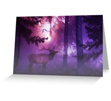 The Enchanted Forest'... Greeting Card