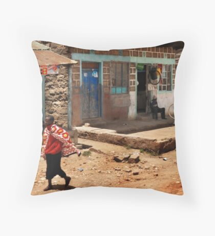 Peaceful times Throw Pillow