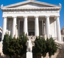 Exterior of the National Library of Greece Sticker