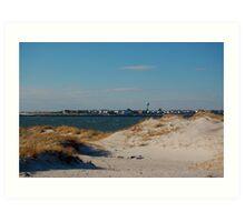 Sand dune,Jones Beach,New York Art Print