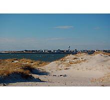 Sand dune,Jones Beach,New York Photographic Print