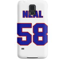 National football player Ed Neal jersey 58 Samsung Galaxy Case/Skin