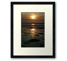 Time is Golden Framed Print