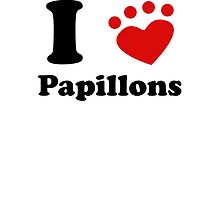 I Heart Papillons by kwg2200