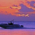 Twilight Grand Baie, Mauritius by John Brotheridge