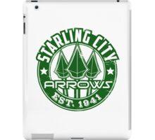 Starling City Arrows V01 iPad Case/Skin